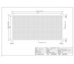 Wire Diameter 5.0, Dimensions 2000 x 1000 mm