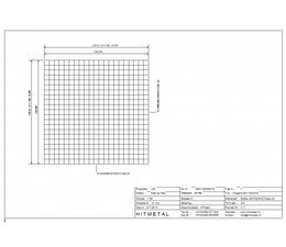 Draaddiameter 4,0, Afmeting 2100 x 2100 mm