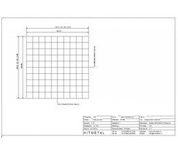 Drahtdurchmesser 4.5, Abmessungen 1000 x 1000 mm