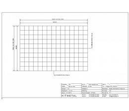 Drahtdurchmesser 4.5, Abmessungen 1000 x 1500 mm