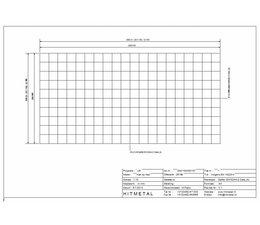 Draaddiameter 4,5, Afmeting 2000 x 1000 mm