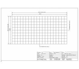 Drahtdurchmesser 4.5, Abmessungen 2000 x 1000 mm