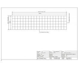 Drahtdurchmesser 4.5, Abmessungen 2000 x 500 mm