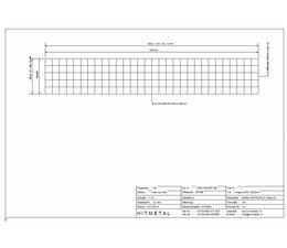 Drahtdurchmesser 4.5, Abmessungen 3000 x 500 mm