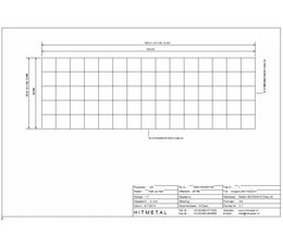 Drahtdurchmesser 4.5, Abmessungen 500 x 1500 mm