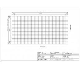 Draaddiameter 1,8 / 2,0, Afmeting 2000 x 1000 mm