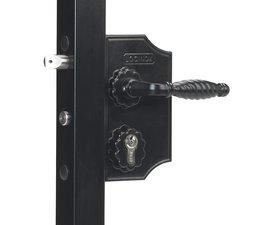 LAKQ H2 | Serrure style fer forgé avec grand coffre