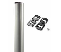 N-LINE MAG | Profil en aluminium recoupable pour ventouses
