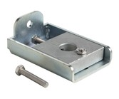 GP-U-BASE | Base plate and plate holder for gate pivot frame
