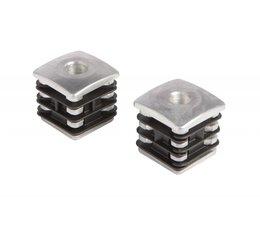 DURA-4040 | Aluminium reinforced postplug for hinges
