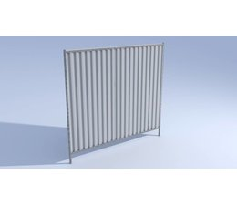 Hitmetal Mobile fence Galvanized after weld Apollo CF (City Fence)