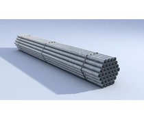 Hitmetal Hot-dip galvanized posts 60 x 1.75 x 2800 mm