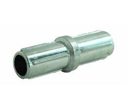 Koppelstuk Ø 42 x 1.75 mm, Aluminium