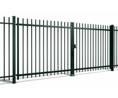 Orion Dual swing gate