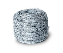 Hitmetal Barbed wire galvanized 250 meters