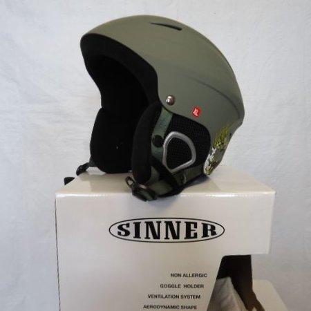 sinner SALE! Skihelm, Disortian mat groen Van €89,95 voor €39,95 !