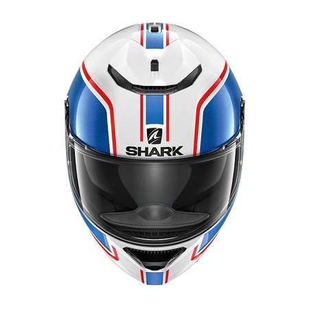 Shark SPARTAN 1.2 PRIONA WHITE BLUE RED