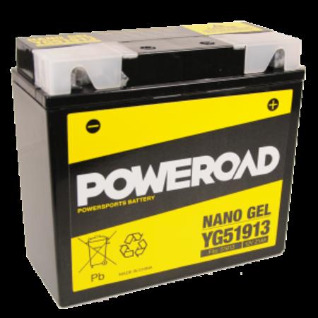 Poweroad Poweroad Gel Accu YG51913 70.4081