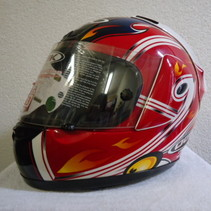 motorhelm replica Jamy Whitman