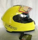Nitro motorhelm integraal Nitro NP-1100F APEX geel