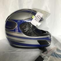 motorhelm integraal ACE blauw