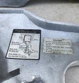 Yamaha origineel zijschild set Yamaha XJ 600. goede staat! old stock