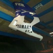 YAMAHA FZR400R zij kap/ kuipdeel links 1988/ 1989