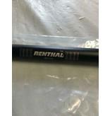 Renthal SALE! Zwart stuur extra laag Road bike, Renthal