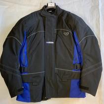 Ixon Textiel Motorjas Maat L zwart/ blauw