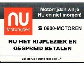 NU motorrijden  Financiering