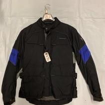 Revit Textiel motorjas maat L Zwart/ blauw