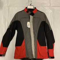 Revit motorjas zeer goedkoop Maat M zwart/ grijs en rood