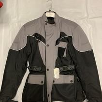 Sperr Textiel motorjas Maat M grijs/ zwart met reflectie