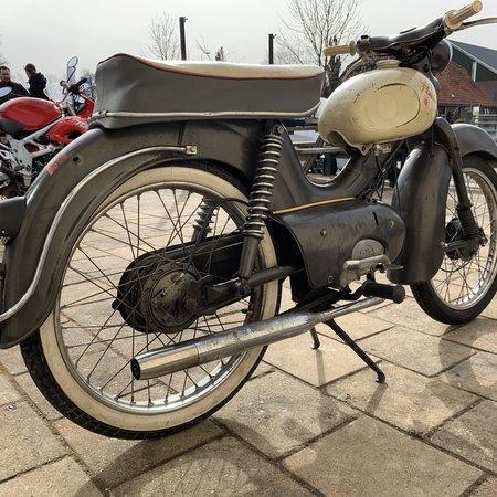 Kreidler Kreidler Florett Ei-tank 1960 met NL kenteken