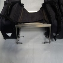 Honda VF750c 1999 bagagedrager RVS + tassen DRIVE