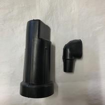 Kreidler Luchtfilter huis 14/16 mm (ook 17 mm)  | elleboog