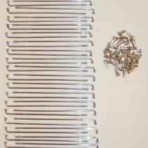 spaak set 183 mm chroom DMP 36 stuks