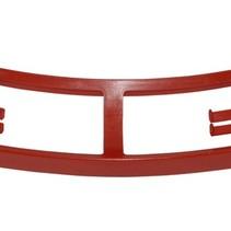 verbindingsstuk frame achterspatbord 1968-1972 rood