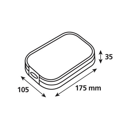 Opti-Line Opti-Case smartphonehoes universeel