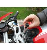 Opti-Line Opti Tube, motorbike steering tube fixing - Ø 17-20,5 mm