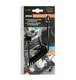 Opti-Line Opti-Line Veerkabel Usb> Apple 8 Pin - 100 cm - Zwart