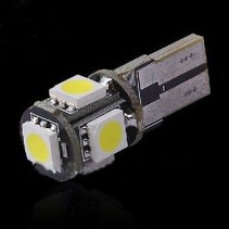 HID - lamp T10  CANBUS 5 SMD 1.2W
