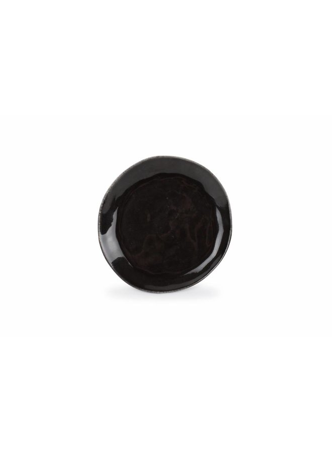 ARTISAN plat bord 20 cm (zwart) set/4