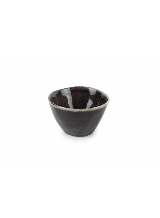 ARTISAN kom 10,5 cm (zwart) set/4