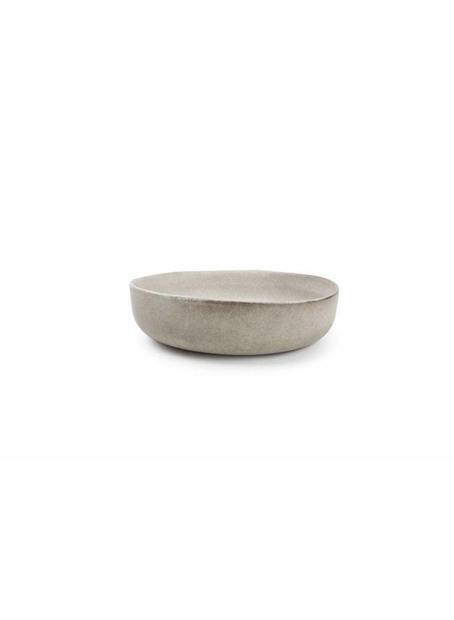 STUDIO URBAN pastabord 21,5 cm grijs (set/4)