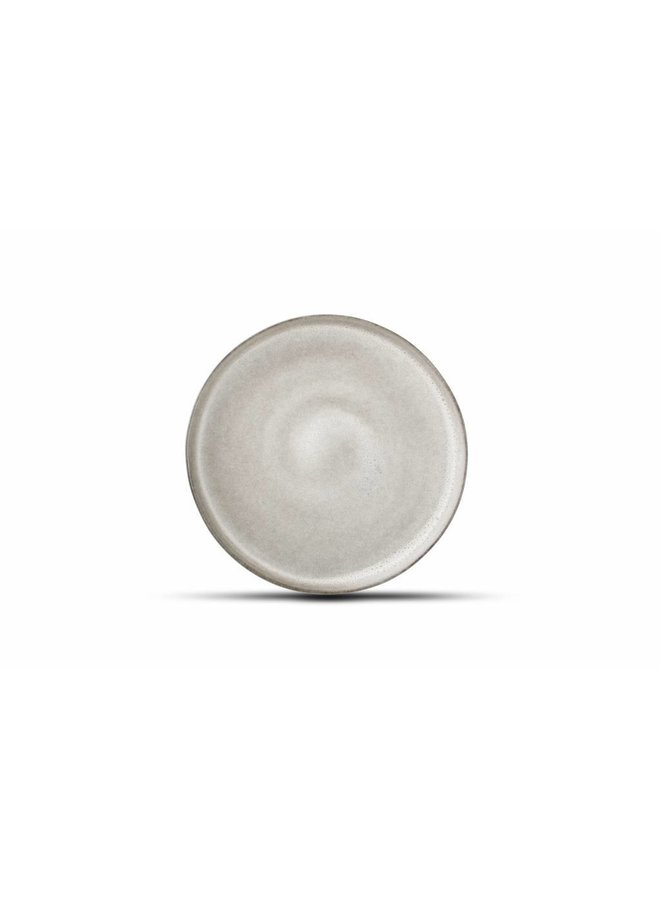 STUDIO URBAN plat bord 22 cm grijs (set/4) 803221