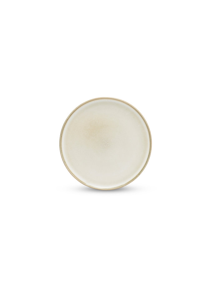 RELIC plat bord 20 cm naturel (set/4) - SP47444