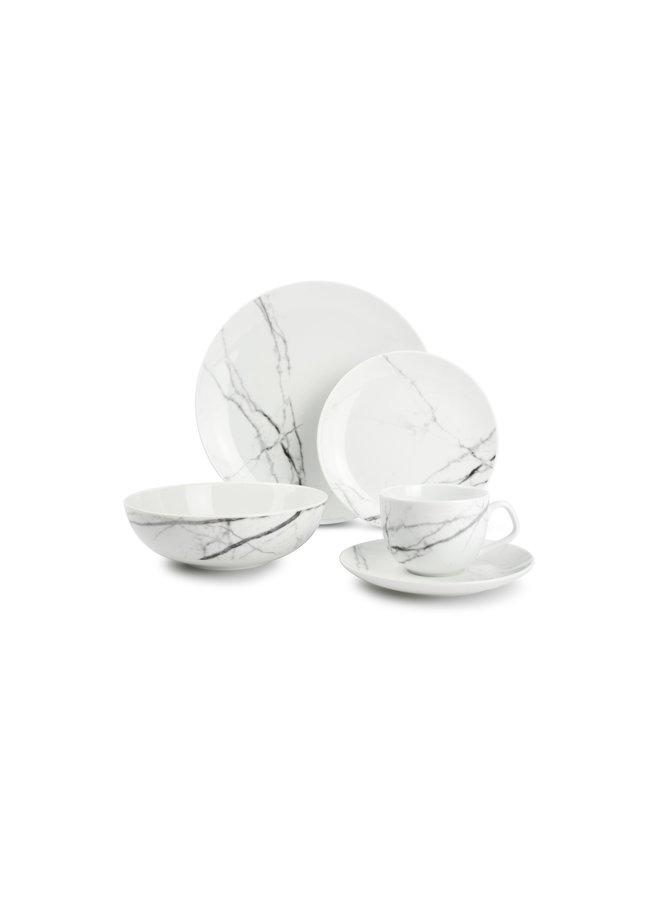 MARBLE kop en schotel 360 ml (set/4) 840525