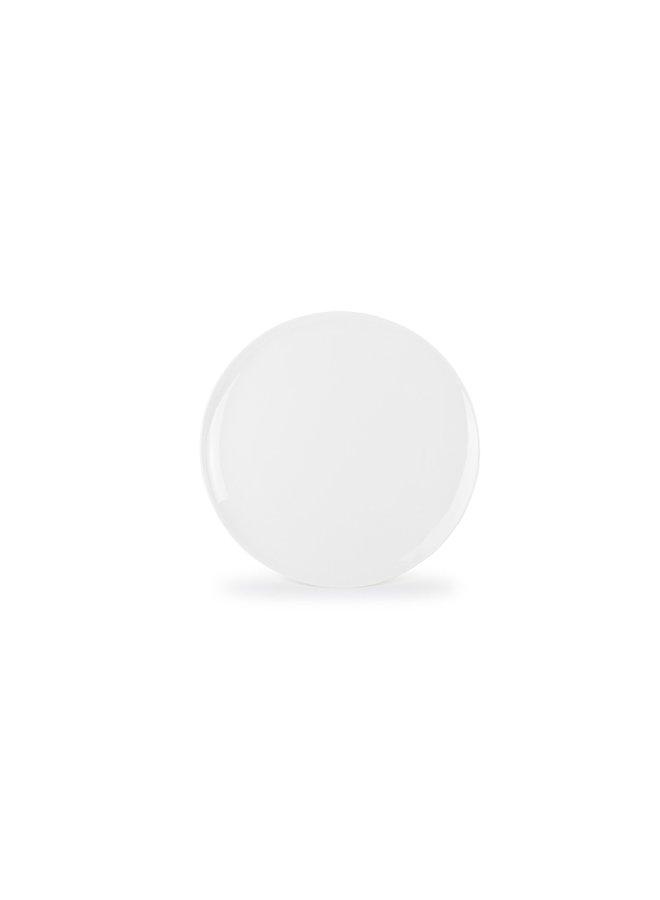 PERLA plat bord 29 cm wit (set/4)