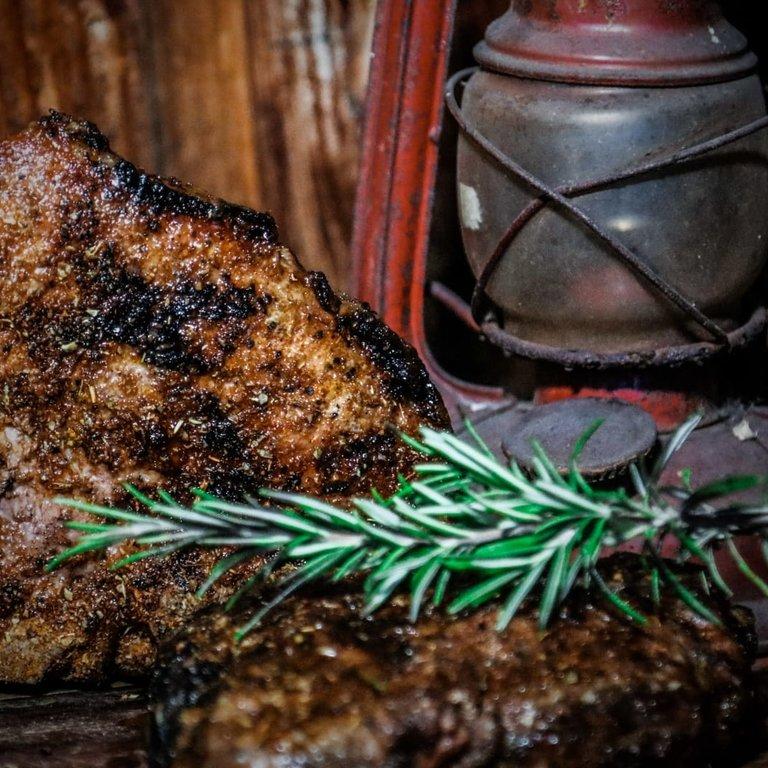 LeJean Iberico T-bone steak